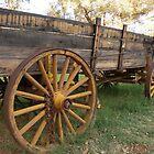 Yellow Wagon by SisterSunshine