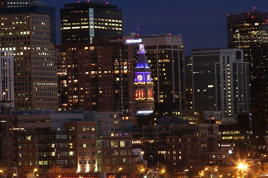 Denver Skyline by TheHipsterStore