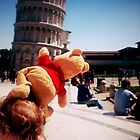 Pooh at Pisa!! by modohunt