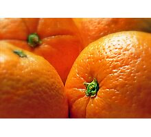 Orange You Glad? Photographic Print