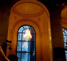 Chandeliers in banks by MarianBendeth