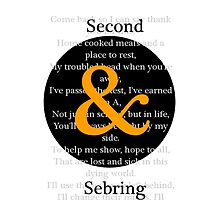 Second & Sebring  by Matthew Ferri