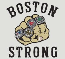 Boston Strong Sports Championship Rings by DCVisualArts