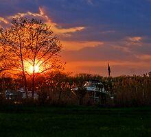 Annapolis Sunset by Artondra Hall