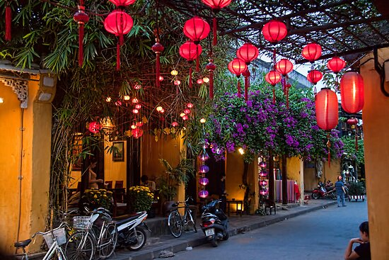 Vietnam. Hoi An. Old Town. Evening. by vadim19