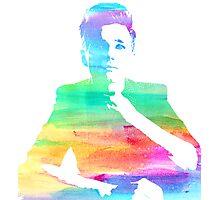 rainbow chris Photographic Print