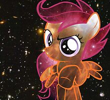 Cosmic Scootaloo  by Jetyplane
