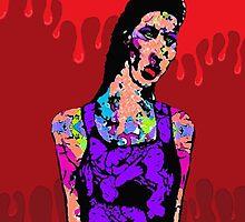 Zombie Girl by brett66