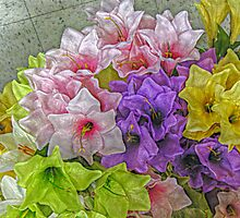 Delicate Lilies for My Mom by Jane Neill-Hancock
