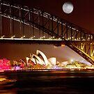 Full Moon Sydney by ramanandr