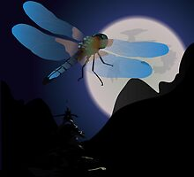 Dragon Fly Midnight Ride by TrioDesigns