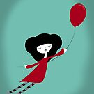 Red Balloon by volkandalyan