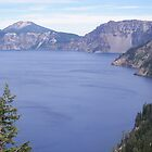 Overlooking Crater Lake by 319media