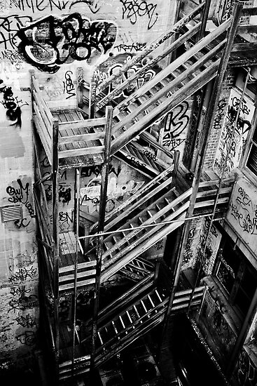 Stairs Down by Andrew Wilson