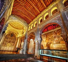 Mudéjar Church of San Roman, Toledo, Spain by Wendy  Rauw