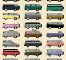 Camper Van by Wyattdesign