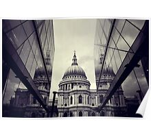 St Paul's Cathedral Poster