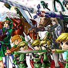 The Legend of Zelda by AXBHikaru