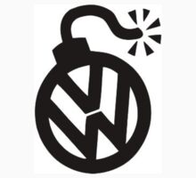 vw  by custom stickers and tshirts