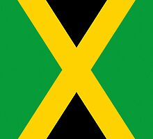 Iphone Case - Flag of Jamaica - Vertical by Mark Podger