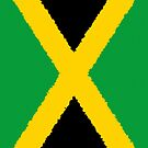 Iphone Case - Flag of Jamaica - Vertical Painted by Mark Podger