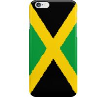 Smartphone Case - Flag of Jamaica - Vertical Painted iPhone Case/Skin