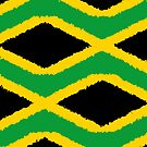 Iphone Case - Flag of Jamaica - Patchwork Painted by Mark Podger