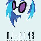 Vinyl Scratch Poster by TheJellyBean