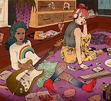 Let's Start a Band by Jasmin Garcia-Verdin