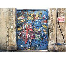 Tel Aviv Doors 3 Photographic Print