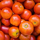 Fresh Red Cherry Tomatoes by GrishkaBruev