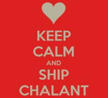 Keep Calm and Ship Chalant Tee by Niamh Wilson