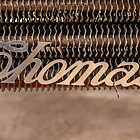Thomas Name Badge by Deborah McGrath