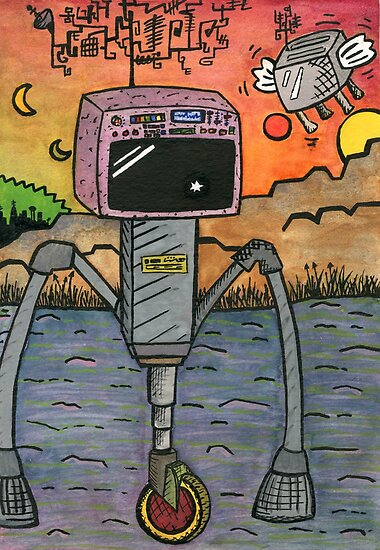 RoboTV by LittleLeighVis