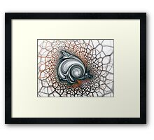 You Have Entered the Ginazone Framed Print