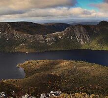 Standing on top of the world_Dove Lake by Sharon Kavanagh