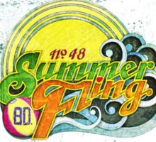 SUMMER FLING. Sticker