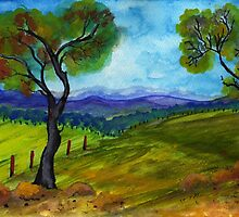 To paint a landscape  by Elizabeth Kendall