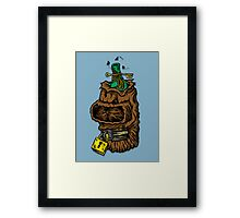 Shrunken Bender Framed Print