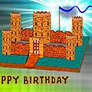 Happy Birthday - Castle by Dennis Melling