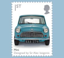 British Mini Postage Stamp by TravelShop