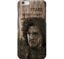 Jon Snow - Carved case iPhone Case/Skin