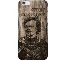 Theon Greyjoy - Carved case iPhone Case/Skin