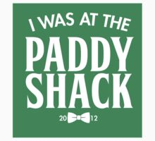 The Paddy Shack (Sticker) by Mark Omlor