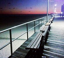 Bench on the Boardwalk by Jordan S.