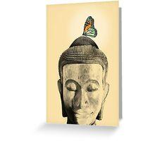 Buddha - tranquil Greeting Card