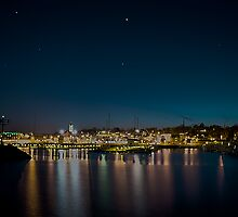 City Lights of Port Washington by James Meyer