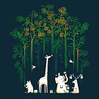 Re-paint the forest by Budi Satria Kwan