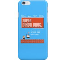 Super Brothers iPhone Case/Skin