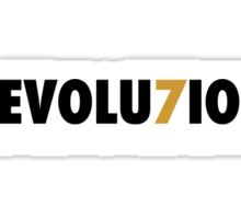 "49ERS ""REVOLU7ION"" T-SHIRT (RED) Sticker"